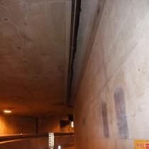 地下トンネル-幹線配管施工前